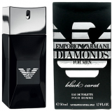 Giorgio Armani Emporio Diamonds For Men; Black Carat - Eau de Toilette pour Homme