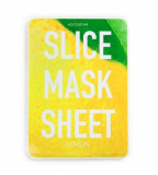 Kocostar Маска-слайс для лица Лимон/ SLICE MASK SHEET (LEMON) 2 листа по 6шт.