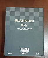 Royal Cosmetic Platinum G.Q. for MAN
