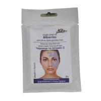 Mila Альгинатная маска Черника с витамином С (омоложение, укрепление сосудов) 250мл