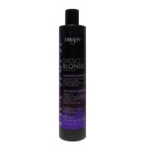 Dikson Dikso Blonde Усиленный антижелтый шампунь с кератином и протеинами пшеницы для обесцвеченных, осветленных, мелированных и седых волос. Усиленная формула