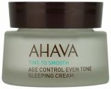 Ahava Age control Even tone sleeping cream Ночной восстанавливающая крем выравнивающий тон кожи 50мл 697045158638