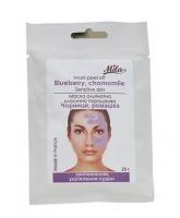 Mila Альгинатная маска Черника, ромашка (успокаивает чувствительную кожу, укрепление сосудов) 250мл