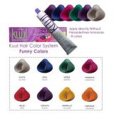 Kuul Перманентная краска для волос Funny Color 90 мл