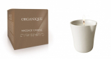 Organique свечка ДЛЯ SPA-массажа белая керамика (без ручки) – GUARANA 125мл 5906713243473