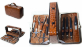 Zauber MS-165 Маникюрный Набор чемодан 1 кус, 2 ножн
