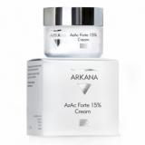 Arkana 47003 AzAs Forte 15% Cream - крем для кожи с признаками воспаления и поствоспалительной пигментацией на основе 10% азелаиновой кислоты и 5% азелоглицина 50мл