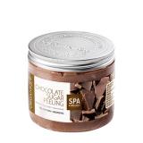Organique CHOCOLATE разглаживающий сахарный Пилинг для тела