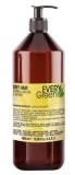Dikson СУХИЕ волосы Шампунь с экстрактом сои, миндаля, масльвы и кокосового масла Dry Hair Shampoo Every Green ЭКО линия без SLS, без минеральных солей
