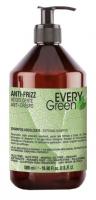 Dikson УВЛАЖНЯЮЩИЙ шампунь, с маслом кунжута, экстрактом эхинацеи, кератина и пантенола Anti Frizz Shampoo Idratante Every Green ЭКО линия без SLS, без минеральных солей