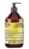 Dikson СУХИЕ волосы Кондиционер с экстрактом сои, миндаля, масльвы и кокосового масла Dry Hair Conder Every Green ЭКО линия без SLS, без минеральных солей