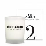Alex Cosmetic The Candle 2...let the lemon kiss the grass Свеча с ароматом лемонграсса, апельсина, ландыш, сладкой дыни, гвоздики