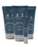 Penhaligon's №33 (Cleanser 5 ml, Moisturiser 5 ml, Eye Sachet 3ml, Face & Beard Scrub 5ml)