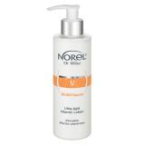 Norel DM 286 MultiVitamin – ультралёгкое очищающее витаминное молочко для всех типов кожи 200мл