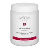 Norel PN 179 Cranberry gel body mask – Body Rejuve – Гелевая маска для тела с экстрактом клюквы 1000g