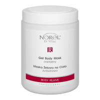 Norel PN 179 Cranberry gel body mask – Body Rejuve – Гелеваяя маска для тела с экстрактом клюквы 1000g