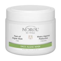 Norel PN 300 Peel-off algae moisturising with milk mask – молочная альгинатная маска для сухой и шелушащейся кожи, рекомендуется после процедур чистки и пилинга 250 g