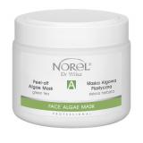 Norel PN 302 Peel-off algae green tea mask – альгинатная маска с зелёным чаем для всех типов кожи, особенно для жирной и комбинированной 250 g