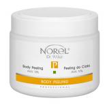 Norel PP 087 Body peeling AHA 10% – пилинг для тела в виде гелеобразной эмульсии, содержит 10% молочную кислоту, pH 4,5 500g