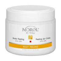 Norel PP 137 Body peeling AHA 20% – пилинг для тела, в виде гелеобразной эмульсии, содержит 20% молочную кислоту, pH 4,5 500g