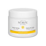 Norel PP 354 Citrus sugar body peeling – очищающий цитрусовый сахарный пилинг для тела на основе овощного и фруктового масел 500g