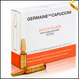 Germaine de Capuccini Options Shock Fluids Photo-Aged Recovery Сыворотка для лица восстан. и борьба с фотостарением 10х1,5 мл 10 шт.