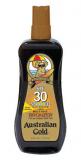 Australian Gold SPF 30+ Spray Gel bronzer Спрей-Гель с фактором защиты 30 и бронзаторами