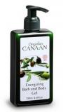Canaan Тонизирующий гель для душа (Energizing bath and body gel) Canaan Organics 250 мл. 7296179018974