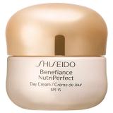 Shiseido крем для лица Защитный, дневной для зрелой кожи Benefiance NutriPerfect SPF 15 50мл 768614191100