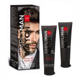 Nouvelle Simply Man Hair Color Cream Крем-краска для волос для мужчин 40+40мл