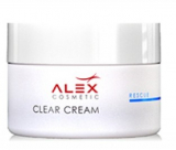 Alex Cosmetic Clear Cream  себорегулирующий увлажняющий крем для жирной и комбинированой кожи 50 ml