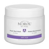 Norel Anti-Age Peat mud mask for face восстанавливающая грязевая маска с торфом для зрелой кожи 500мл