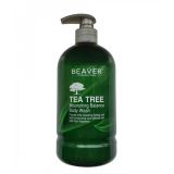 Beaver Professional Гель для душа с маслом Чайного дерева TEA TREE 600мл