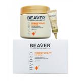 Beaver Professional питательная и Увлажняющая маска для сухих и непослушных волос на основе активних ферментов HYDRO SERIES