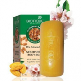 Biotique Bio Almond Oil NATURALLY SOFTER CLEAR BODY SOAP Био Миндаль Натуральное смягчающее мыло 150мл
