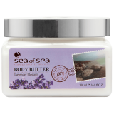 Сливки для тела Лаванда Sea of Spa Body Butter aromas Lavender 500 мл 7290011314842