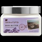 Сливки для тела Лаванда Sea of Spa Body Butter aromas Lavender 500 мл 7290011314842