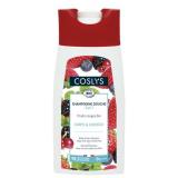 Coslys Шампунь для волос и тела с красными ягодами, без мыла BODY & HAIR SHAMPOO