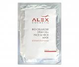 Alex Cosmetic Bio-Cellulose Stem Cell Face & Neck Mask восстанавливающая биоцеллюлозная маска с фитостволовыми клетками 18 ml