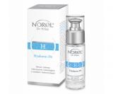 Norel DZ Hyaluron Plus Aktive Moisturizing Eye Cream - активный увлаажняющий крем для периорбитальной зоны с гиалуроновой кислотой, ингредиентами, идентичными NMF, масла ши, авокадо 15мл