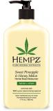 Hempz Sweet Pineapple & Honey Melon Moisturizer увлажняющее растительное Молочко для тела Ананас-Медовая дыня 500ml 676280027084
