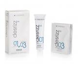 Hairconcept DESRIZZ FORCE 2 SENSIBLES+ 03 NEUTRALIZANTE Система для выравнивания чувствительных, поврежденных волос 120 ml + 2 x 40 ml 8436029843946
