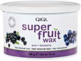 50312 GIGI Super Fruit Wax (acai+blueberry) 396g - фруктовый воск с экстрактами черники и асаи #0356