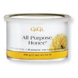 50302 GIGI All Purpose Honee 396г - натуральный медовый воск (МНОГОЦЕЛЕВОЙ) (0330)
