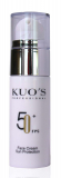 KUO'S Professional Facial Sunscreen FPS 50+ SUN SCREEN Крем солнцезащитный для лица SPF 50+ 30мл