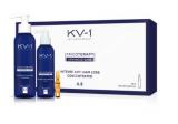 KV-1 CAJA 10 AMPOLLAS LOCION ANTICAIDA 4.3 Концентрат в ампуле от выпадения волос 4.3 10*10мл 8435470602041