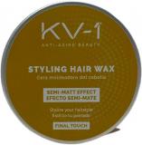 KV-1 STYLING HAIR WAX 50ml матовый воск для укладки волос 50мл 8435470602232