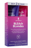 Lee Stafford Набор ухода за волосами Bleach Blondes Twin Pack (Шампунь 250 мл+Кондиционер 250 мл) 5060282702622