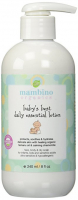 Mambino Organics лосьон детский для ежедневного ухода за кожей лица и тела Babys best daily essen 892201002668