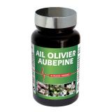 LIDK40 NUTRI EXPERT ЧЕСНОК ЛИСТ ОЛИВЫ ЦВЕТЫ БОЯРЫШНИКА / AIL OLIVIER AUBEPINE - нормализует артериальное давление, 60 капсул функциональные витамины и нутрицевтика NUTRIEXPERT